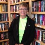 Town Librarian Kathy Broadwell